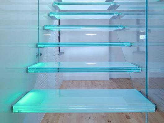 Лестница из триплекса